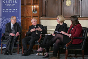 Archbishop Tomasi Panel Discussion